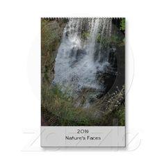 2014 Wall Calendar #calendar #waterfall #nature