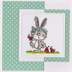 Bunny Card - Barb Dare - Google+