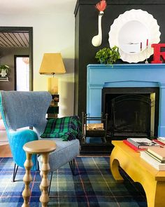 Everything But The House, Welcome Home, Mantle, Color Inspiration, All The Colors, Living Spaces, Interior Design, Modern, Vintage