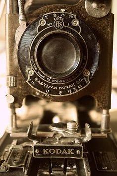 vintage kodak photo camera