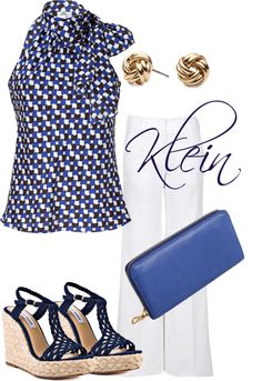 """Navy and cobalt blue"" by stacy-klein on Polyvore"