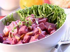 Ein superleckeres Rezept wenn es mal schnell gehen soll: Rote-Bete-Joghurt-Salat