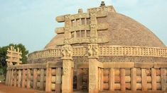 #SanchiStupa in #MadhyaPradesh is the oldest stone structure in #India :) Visit- http://bit.ly/2cvg4re #travel #ttot #indiatourpackages #indecubotravelsau