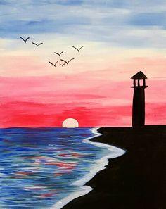 Lighthouse shore