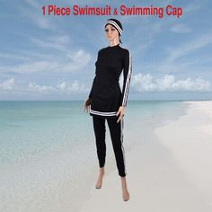 AlHamra Bahri Burkini Full Cover Modest Swimwear Swimsuit Muslim Islamic in…