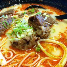 Spicy Beef Ramen @ Ajisen
