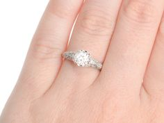 More than Ever Glittering Engagement Ring