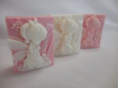 Angel Soap Baby Angel Soap Baptism Favors by CindysBathCreations