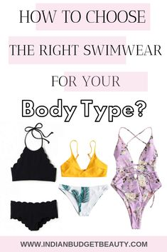 eeba5ce9d9 How To Choose The RIGHT Swimwear For Your Body Type? - Indian Budget Beauty  | Indian Makeup, Beauty & Lifestyle Blog #howtochoosetherightswimsuit # ...