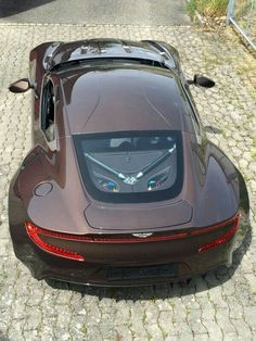 #cars #vintage #classic #brown #collection ✔️ Aston Martin Cars, Aston Martin Vanquish, New Sports Cars, Sport Cars, Supercars, Porsche, Lux Cars, Amazing Cars, Exotic Cars