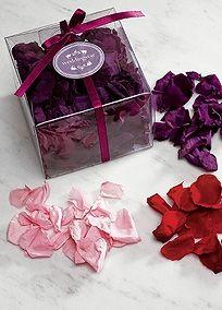Preserved Natural Rose Petals, Style 9154 #davidsbridal #diy #weddingdecor
