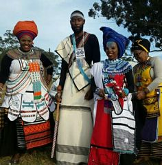 African Wear Dresses, African Attire, Traditional Weddings, Traditional Dresses, South African Traditional Clothing, Xhosa Attire, African Print Clothing, Apron Designs, Africans