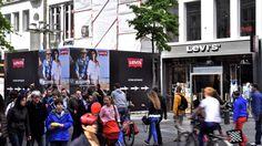 Levi's - Meir Antwerp - 2014 #BlowUPmedia