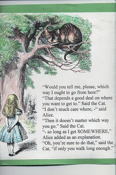 I love the Cheshire Cat
