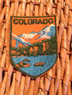 Colorado Vintage Travel Patch by HeydayRetroMart, $4.00