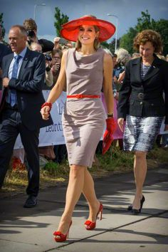 Queen Máxima, July 9, 2015 in Fabienne Delvigne | Royal Hats