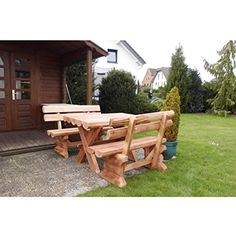 328 best Holz Gartenbank images on Pinterest in 2018 | Timber wood ...
