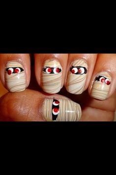 Mummy nails!