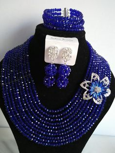 Find More Jewelry Sets Information about 2016 Fashion blue african crystal beads necklace set nigerian wedding african beads jewelry set Free shipping P 1262,High Quality jewelry kiln,China jewelry cristal Suppliers, Cheap jewelry gift boxes for earrings from Chinese jewelry import and export co., LTD on Aliexpress.com