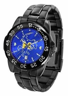 McNeese State Men's Logo Watch by SunTime. $70.95. Officially Licensed McNeese State Cowboys Men's Stainless Steel Watch. Men. 3 Year Limited Warranty. Adjustable Band. Linked Steel Band. McNeese State Men's Logo Watch. The FantomT boasts a bold but not in-your-face image of Cowboys logo in metallic silver on a black Ano-Chrome dial. The watch features a dark gunmetal finish, a date calendar display and a rotating bezel/timer that circles the scratch-resistant glass crystal. I...