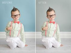 Photoshop Friday: Before & After {Changing the Background Color}