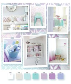 color and theme inspiration for a guest room