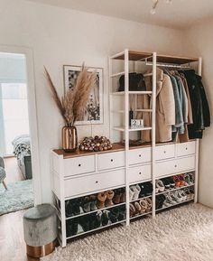 Room Ideas Bedroom, Home Bedroom, Bedroom Decor, Elvarli Ikea, Ikea Hall, Ikea Closet, My New Room, Home And Living, Room Inspiration
