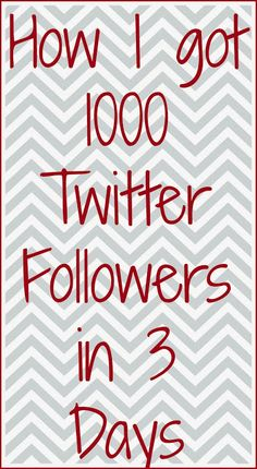 PR Friendly Mom Blogger -MomsReview4You: How I got 1000 Twitter Followers in 3 Days!