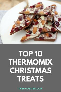 Top 10 Thermomix Christmas Treats to get the silly season started. Christmas Food Gifts, Xmas Food, Christmas Cooking, Merry Christmas, Christmas Recipes, Xmas Gifts, Bellini Recipe, Thermomix Desserts, Food Festival