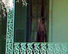 Ghost Photo of a child real chilling image of a ghosts at the Myrtles.  Proff that the place is very haunted!