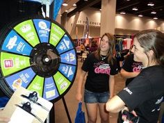 Several advertising packages at varying prices are still available for interested partners. If you're interested in participating, have giveaways for the prize wheel or have questions about the program, please contact us. Buy this Prize Wheel at http://PrizeWheel.com/products/floor-prize-wheels/floor-table-black-clicker-prize-wheel-12-slot/.
