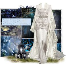 Inspired by the home of Galadriel in the series The Lord of the Rings by J.R Tolkien and the movies of the same name. Disney Themed Outfits, Movie Inspired Outfits, Dress Up Outfits, Classy Outfits, Fashion Outfits, Middle Earth Wedding, Fantasy Gowns, Fantasy Outfits, Fairytale Fashion