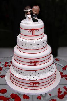 Bolos de Pasta Americana Casamento