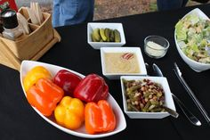 Pig Roast and BBQ Menus that Wow your Guests! Menus are created from fresh, local all natural ingredients, cooked fresh on site. Casual Wedding Reception, Bbq Menu, Backyard Parties, Pig Roast, Catering, Picnic, Stuffed Peppers, Fresh, Vegetables