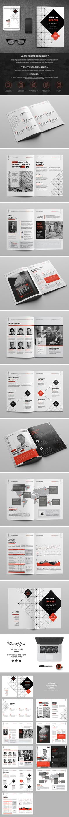 Company Brochure/Report 20 Page on Behance