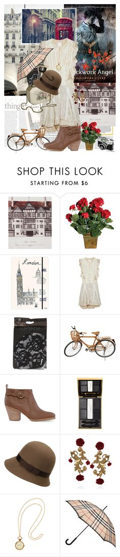 """""""Book Review: Clockwork Angel by Cassandra Clare"""" by bittersweet89 ❤ liked on Polyvore featuring Liberty, Anna Sui, Kenzo, Rachel Comey, Yves Saint Laurent, Uniqlo, Dolce&Gabbana, H&M, Burberry and cassandra clare"""