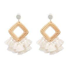 BENA Womens Tassel Earrings Girls Bohemian Tassel Drop Vintage Retro Tassel Dangle Boho Drop Earrings Eardrop for Women