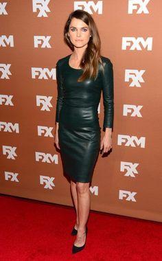 Keri Russell's radiant dress