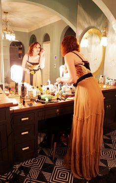 Karen Elson's Stunning Night Out at the Conservancy Gala in Nashville