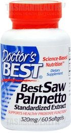 Doctor's Best Saw Palmetto is a prostate health formula made from pure saw palmetto berry extract containing active ingredients including fatty acids and plant sterols. Saw Palmetto is found to interfere with the mechanisms leading to prostate enlargement and urinary symptoms associated with Benign Prostatic Hyperplasia (BPH). This formula is free of solvent residues. visit us http://www.tasmanhealth.co.nz/doctors-best-saw-palmetto-320mg/ for more details!!