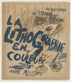 1898 Poster for La Lithographie originale en couleurs