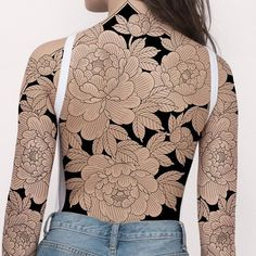 Up for grabs 🍑 🖤 FOR BOOKING PLEASE E-mail : missorange1983@gmail.com #japanesetattoo #melbournetattooartist #sydneytattoo #brisbanetattoo… Upper Thigh Tattoos, Flower Thigh Tattoos, Back Tattoos, Sexy Tattoos, Body Art Tattoos, Girl Tattoos, Sleeve Tattoos, Irezumi Tattoos, Mangas Tattoo