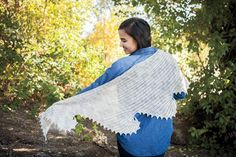 Snowswirls Shawl Crochet Shawl - Knitting Patterns and Crochet Patterns from KnitPicks.com $4.99