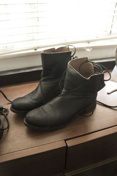 Andrew Mcdonald Lace Back Boot Size 9 $283 - Grailed