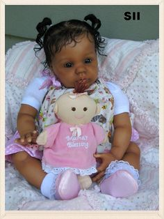 "CUSTOM Order for a Reborn Ethnic Biracial AA or Caucasian Bountiful Baby Kit up to 23""  Many Choices of kits to select from on Etsy, $350.00"