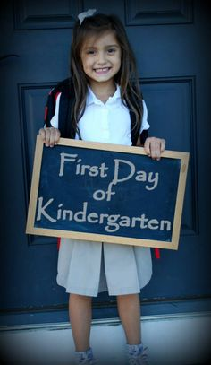 My daughter's first day of Kindergarten  ©Duncan Photography