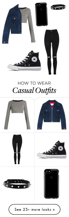 """""""Casual"""" by zbb2004 on Polyvore featuring Topshop, Dolce&Gabbana, Gucci, Speck and Converse"""