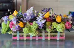 spring floral arrangements | ... Intensive Course at the Paula Pryke Flower School : Part 1 | Flowerona