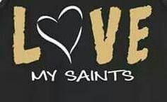 LOVE MY SAINTS!!! ♡ WHO DAT!!!  SOOOO READY FOR SOME FOOTBALL