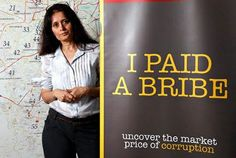 """Her idea of fighting corruption is so cool, you would want to fist bump her."" ScoopWhoop covers I Paid A Bribe co-founder Swati Ramanathan: http://www.scoopwhoop.com/news/her-idea-of-fighting-corruption-is-so-cool-you-would-want-to-fist-bump-her-1-160.aspx#sthash.gmO1Qsvo.tI0g2qnG.dpbs"